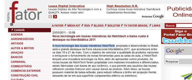 release - revista fator