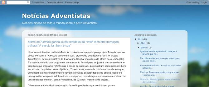 release - noticias adventistas